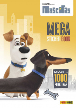 Mega stickers book