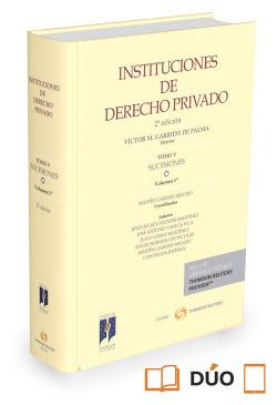 Insituciones de derecho privado: sucesiones tomo V volumen 1