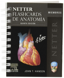 NETTER. FLASHCARDS DE ANATOMIA.MIEMBROS
