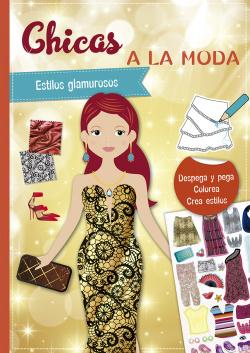 Pegatinas - Chicas a la moda. Estilos gamurosos