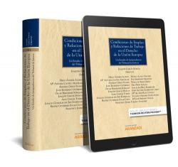 CONDICIONES DE EMPLEO Y RELACIONES DE TRABAJO EN EL DERECHO DE LA UNION EUROPEA (PAPEL + E-BOOK)
