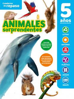 CUADERNO DE REPASO TEMÁTICO LUMINISCENTE 5 AÑOS ANIMALES SORPRENDENTES