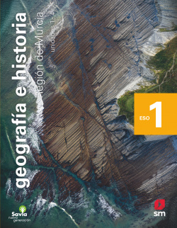 Geografía e historia. 1 ESO. Savia Nueva Generación. Murcia