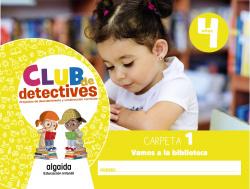 Club de detectives 4 años. Carpeta 1.