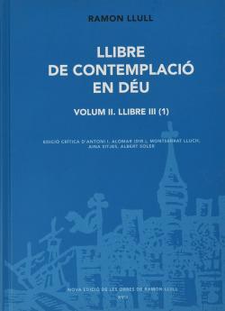 LLIBRE DE CONTEMPLACIÓ EN DÉU. VOLUMI II - 1