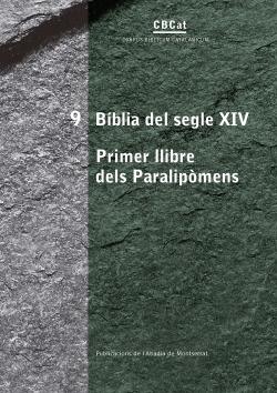 (CAT).BIBLIA SIGUE XIV.PRIMER LLIBRE PARALIPOMENS