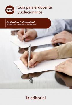 Fábricas de albañilería. EOCB0108 - Guía para el docente y solucionarios