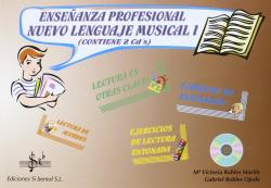ENSEÑANZA PROFESIONAL.NUEVO LENGUAJE MUSICAL I.(+2CDS)