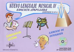 4.NUEVO LENGUAJE MUSICAL.(VOLUMEN 4).(ED. AMPLIADA).(+2CDS)