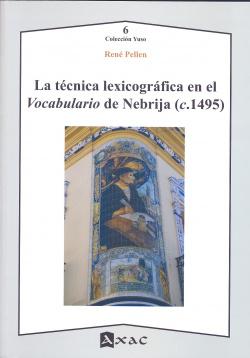 La tecnica lexicografica en el vocabulario de nebrija