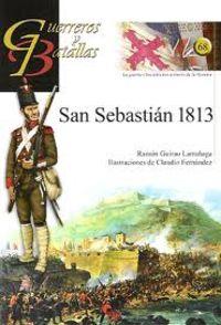 San Sebastian 1813-Guer. Y Bat. 68