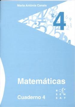 Matemáticas. Cuaderno 4