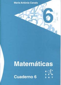 Matemáticas. Cuaderno 6