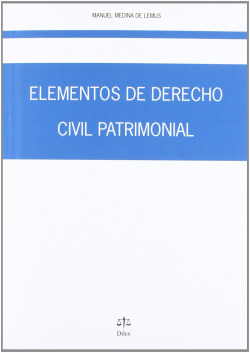 ELEMENTOS DE DERECHO CIVIL PATRIMONIAL