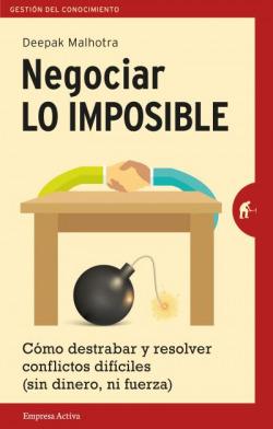 Negociar lo imposible: gestión del conocimiento