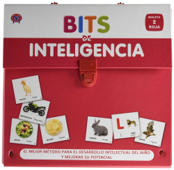 BITS DE INTELIGENCIA (2 AÑOS) (MALETA ROJA)