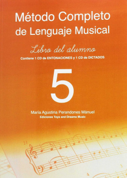 METODO COMPLETO DE LENGUAJE MUSICAL 5º NIVEL. LIBRO DEL ALUMNO