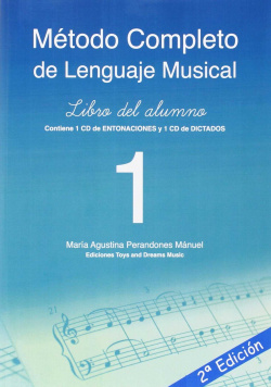 MÉTODO COMPLETO DE LENGUAJE MUSICAL 1º NIVEL LIBRO DEL ALUMNO