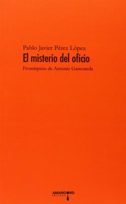 38.MISTERIO DEL OFICIO (POESIA)