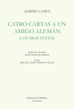 CATRO CARTAS A UN AMIGO ALEMÁN