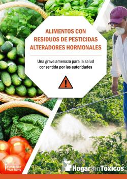 ALIMENTOS CON RESIDUOS DE PESTICIDAS ALTERADORES HOMONALES