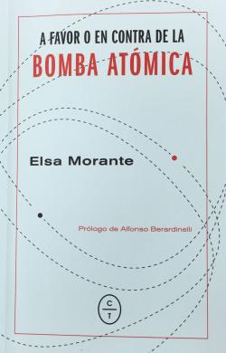 A FAVOR O EN CONTRA DE LA BOMBA ATÓMICA