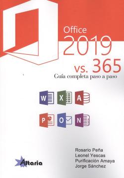 OFFICE 2019 VS 365