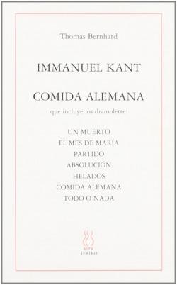 Immanuel Kant y comida alemana