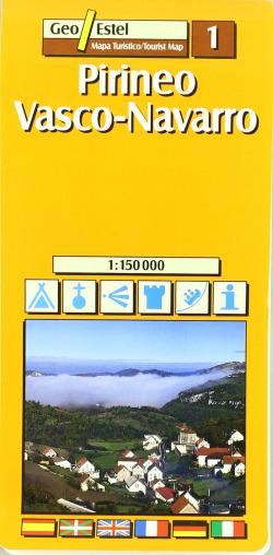 Pirineo Vasco-Navarro, E 1:150.000