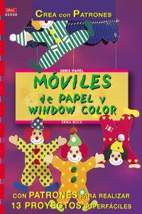 Moviles de papel y window color