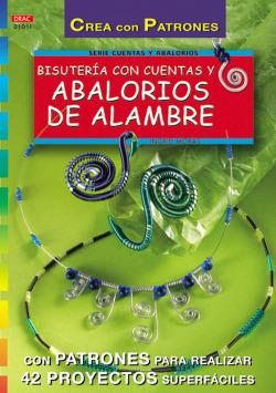 Serie abalorios n� 11. bisuteria con cuentas y abalorios de alambre