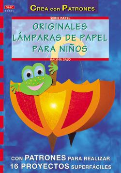 Serie papel nº 21. originales lamparas de papel para niños