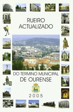 Rueiro actualizado do término municipal de Ourense
