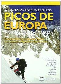 57 escaladas invermales en los Picos de Europa y Cordillera Cantábrica
