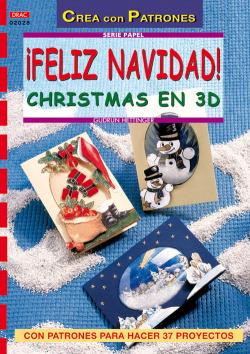 Serie papel nº 28. feliz navidad! cristmas en 3d