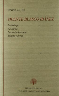 III.Novelas