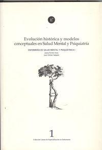Evolución histórica y modelos conceptuales salud mental