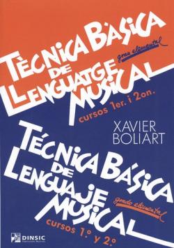 Tecnica basica llenguatge musical 1er-2on