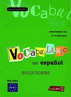 Vocabulario del español.soluciones