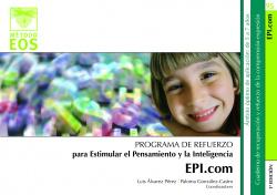 Estimular pensamiento inteligencia.(EPI.COM)