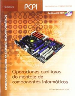 Operaciones auxiliares componentes informáticos