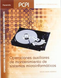 Operaciones auxiliares de mantenimiento microinformáticos