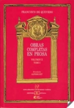 QUEVEDO: OBRAS COMP. 2-1 PROSA