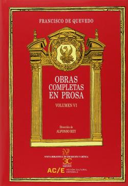 Obras completas en prosa vol VI