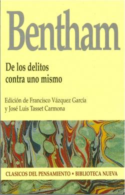 DE LOS DELITOS CONTRA UNO MISMO JEREMY BENTHAM