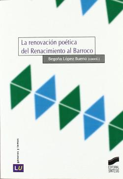 RENOVACION POETICA DEL RENACIMIENTO AL BARROCO