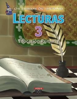 (G).(08).LIBROS DE MERLIN 3º.PRIM.*LECTURAS XERAIS*