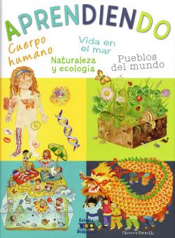 Aprendiendo. cuerpo humano, vida en el mar, pueblos del mundo, naturaleza y ecología