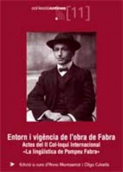 Entorn i vigència de l'obra de Fabra