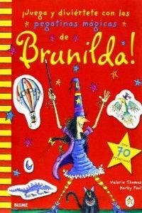 Juega y diviertete con las pegatinas mágicas de Brunilda